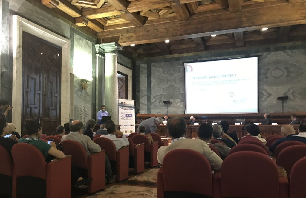 CONNECT at the Italian Society of Electronics-June 2018